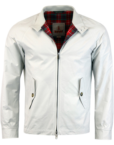 BARACUTA G4 Made In England Mod Harrington - Mist