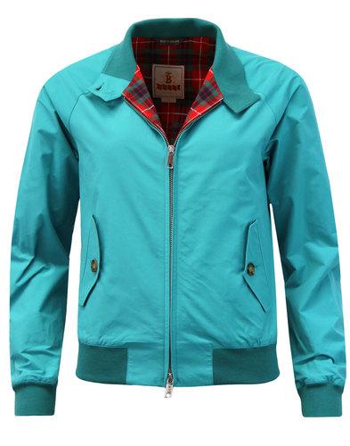 Baracuta Womens G9 Made in England Harrington Jacket Lagoon 0b968e0872