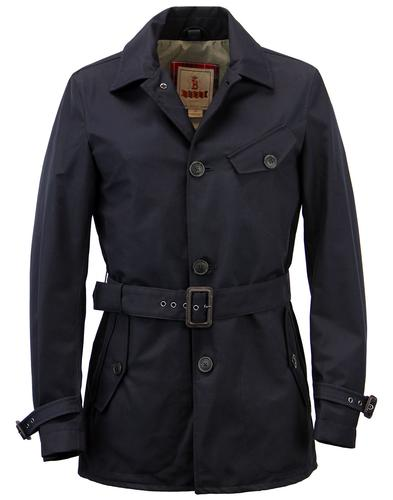 Stornaway BARACUTA 3 Layer Mod Short Trench Coat