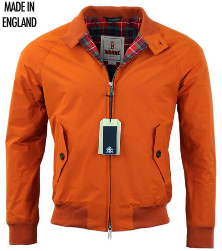 BARACUTA G9 ORIGINAL RETRO MOD HARRINGTON ORANGE