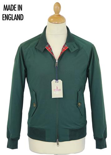 BARACUTA G9 ORIGINAL RACING GREEN HARRINGTON MOD