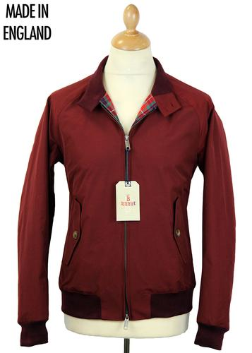 BARACUTA G9 ORIGINAL RETRO MOD HARRINGTON RED