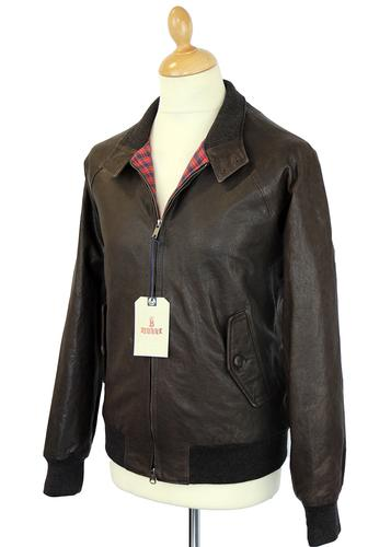 Baracuta leather jacket