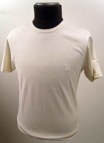 'Baracuta G9 Sixties Mod Indie Ivory T-Shirt