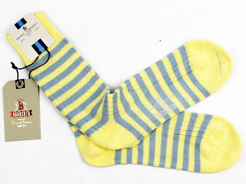 Baracuta Socks Lemon