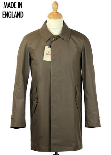 BARACUTA TRENCH COAT BRONZE MADE IN ENGLAND
