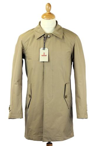 Baracuta Trench Coat Tan