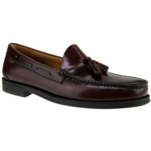Larkin BASS WEEJUNS Moccasin Tassel Loafers WINE