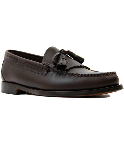 Layton Pull Up BASS WEEJUNS Kiltie Fringe Loafers