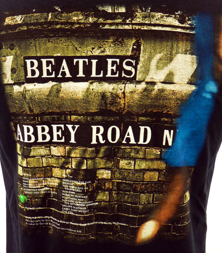 The Beatles Abbey Road Retro 60s Iconic T-Shirt