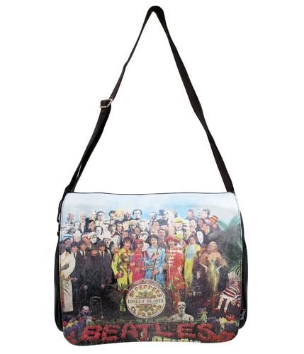 BEATLES BAGS RETRO SGT PEPPERS SATCHEL BAG