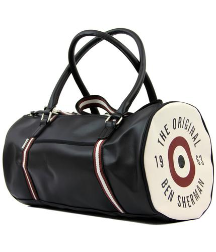 BEN SHERMAN Retro Mod 60s Classic Barrel Bag