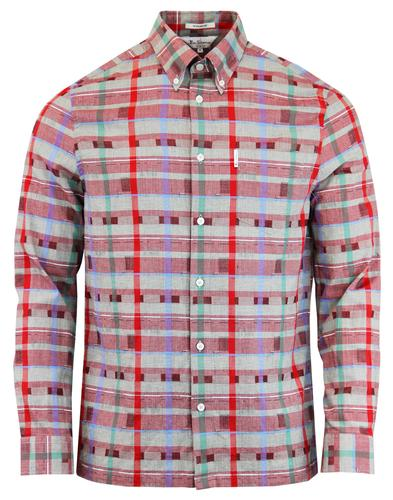 The Benjamin BEN SHERMAN 1980s Archive Check Shirt