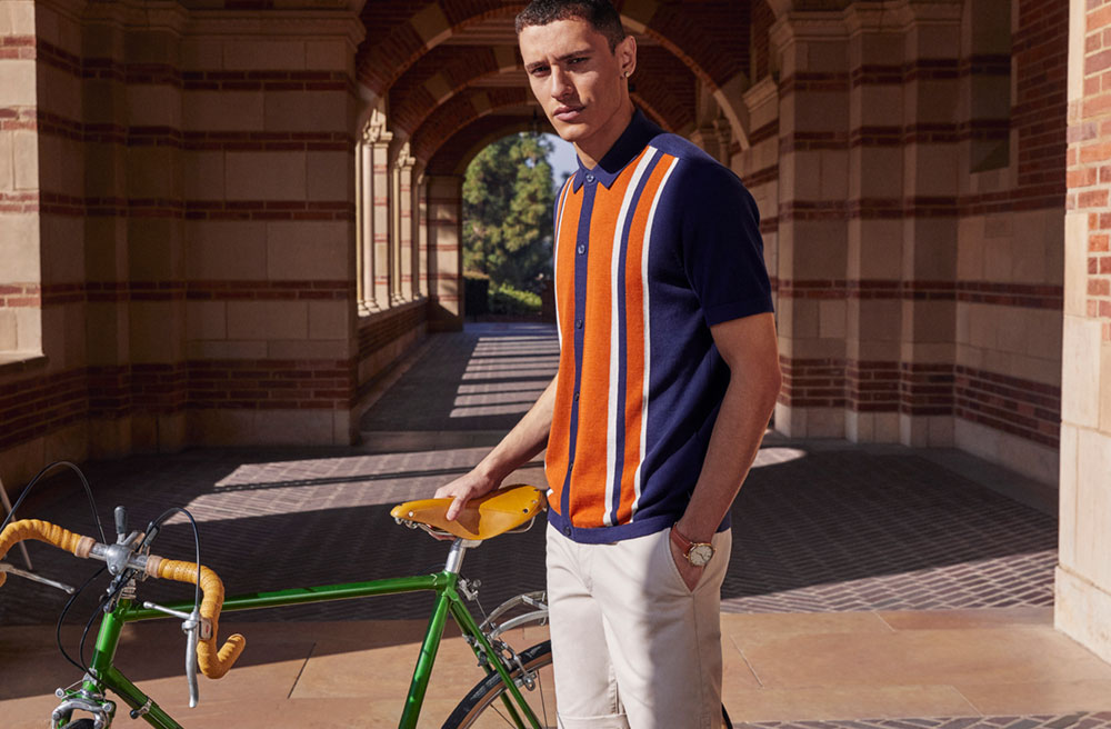 Ben Sherman Ivy League Knitted Polo