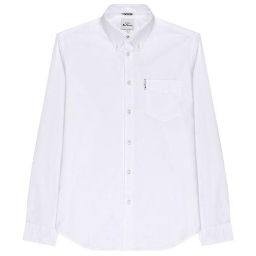 Vintage EASY Mens Shirt Size S Oxford Shirt Cotton Button Down Retro Fashion SALE!!
