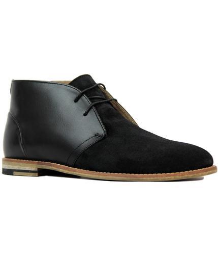 Desert Boots In Black - Black Ben Sherman dfPPWfus6E