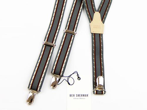 Ben Sherman Made In England Retro Mod Braces (G)