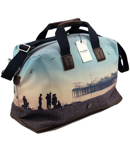 BEN SHERMAN RETRO MOD HOLDALL BAG BRIGHTON PIER