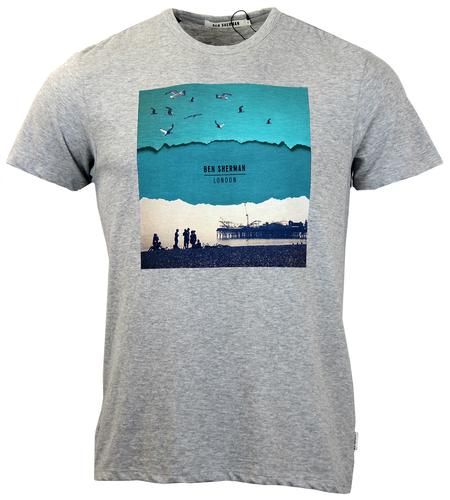 BEN SHERMAN RETRO MOD BRIGHTON BEACH T-SHIRT