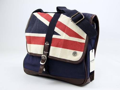 BEN SHERMAN RETRO MOD CANVAS UNION JACK BAG MIDI