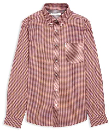 BEN SHERMAN RETRO MOD 70S MINI TWILL SHIRT