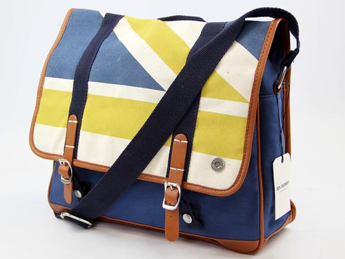 BEN SHERMAN RETRO MOD CANVAS UNION JACK BAG
