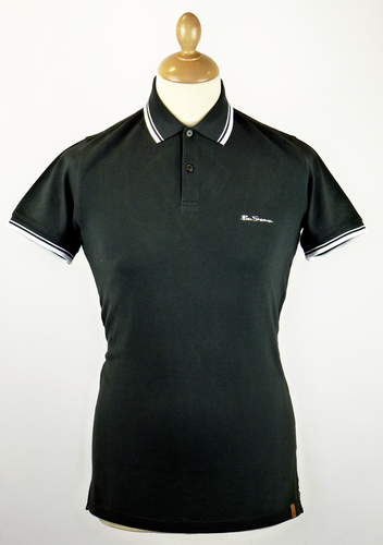 New Romford BEN SHERMAN Retro Mod Polo Shirt JB