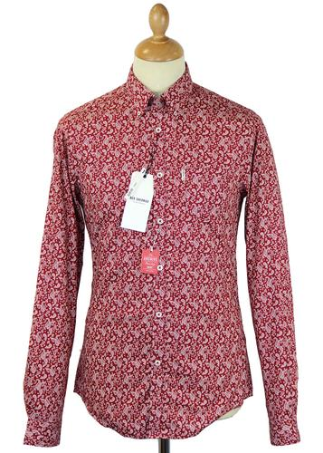 Archive Digital Paisley Ben Sherman Mod Shirt LB