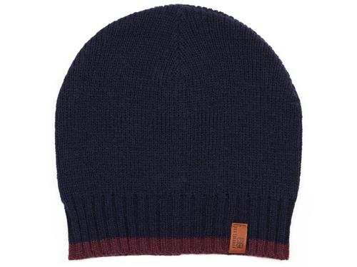 BEN SHERMAN RETRO MOD TIPPED KNITTED HAT