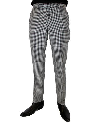 BEN SHERMAN Tailoring Mod Gingham Slim Trousers