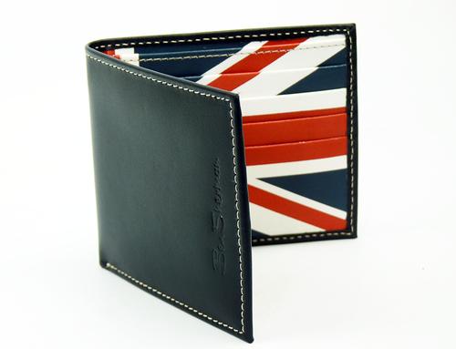 Union Jack BEN SHERMAN Retro Mod Leather Wallet
