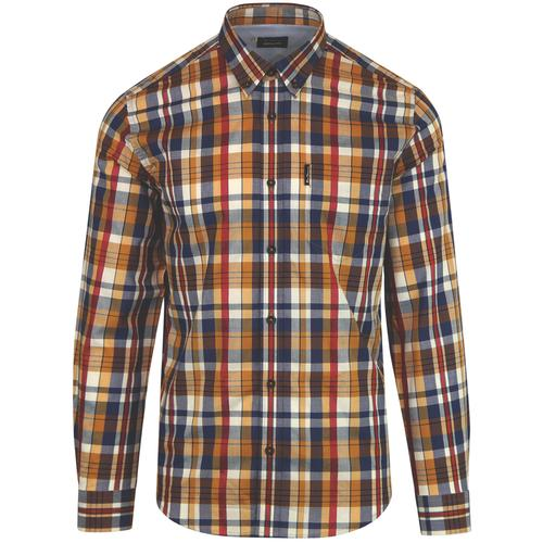BEN SHERMAN x KEITH MOON Ltd Ed Mod Check Shirt