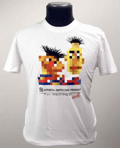 'Bert and Ernie Witness Protection' -Chunk T-Shirt