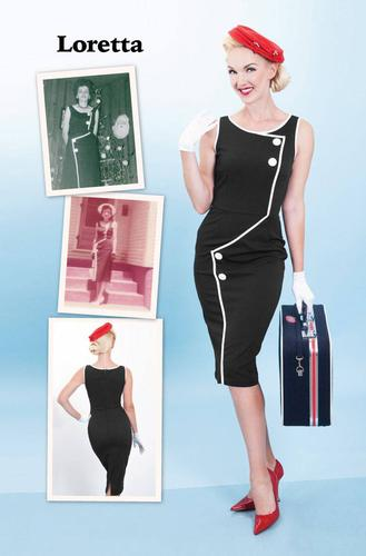 Loretta BETTIE PAGE Retro Vintage 50s Style Dress