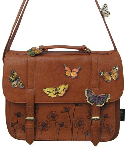 DISASTER RETRO VINTAGE BOHO BUTTERFLY SATCHEL