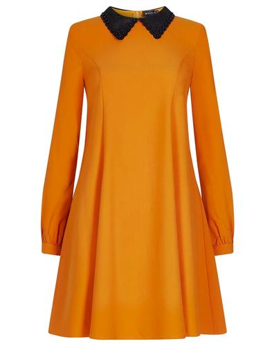Nia BRIGHT & BEAUTIFUL 1960s Mod Long Sleeve Dress