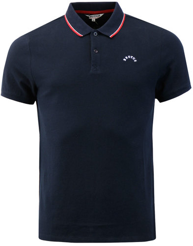 BRUTUS TRIMFIT Mod Twin Tipped Pique Polo Shirt N