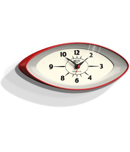 Bullit NEWGATE Retro 60s Mod Space Age Wall Clock