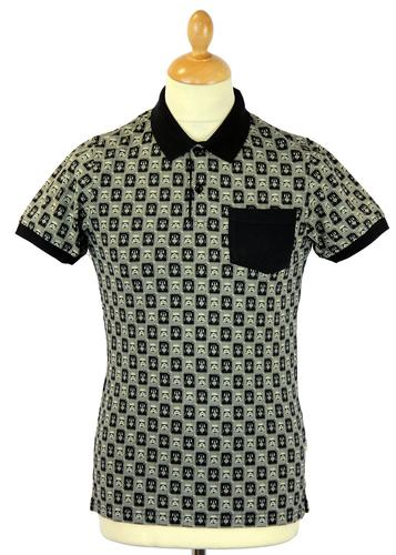 Trooper Stamp CHUNK Retro 70s Indie Star Wars Polo