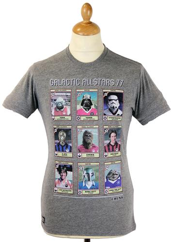 Allstars 77 CHUNK Retro Star Wars Football Tee G
