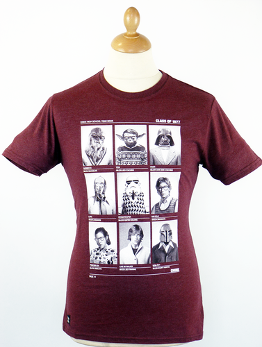 Class of '77 CHUNK Retro 70s Indie Star Wars Tee O