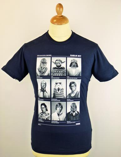 chunk class of 77 retro 70s wars vintage t shirt