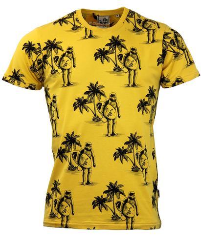 Yellow Tee Shirts Womens