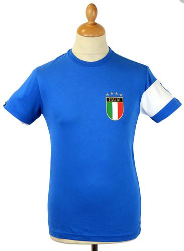 Il Capitano COPA Retro 70s Italy Football T-Shirt