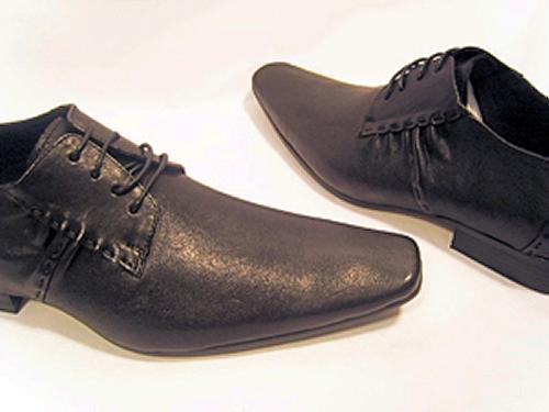 'Jamie' - Retro Mod Ruched Shoes by PAOLO VANDINI