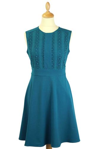 Faye DARLING Retro 60s Vintage Style A-Line Dress