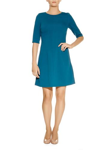 Mindy DARLING Retro 60s Textured Mod Skater Dress