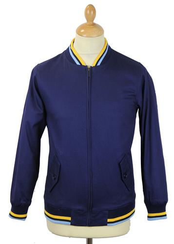 DAVID WATTS STATON RETRO MOD MONKEY JACKET YELLOW