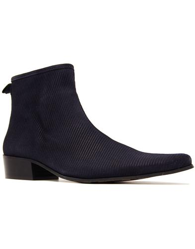Ziggy DELICIOUS JUNCTION Cord Zip Chelsea Boots
