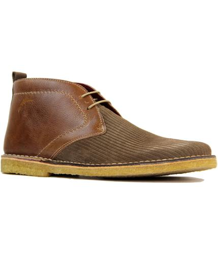 DELICIOUS JUNCTION RETRO MOD CORD DESERT BOOTS